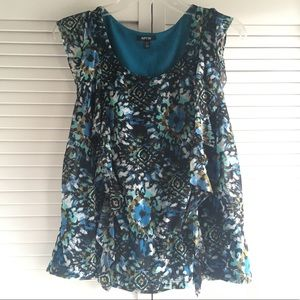 Petite Women's Sleeveless Top, Size PS, Apt. 9